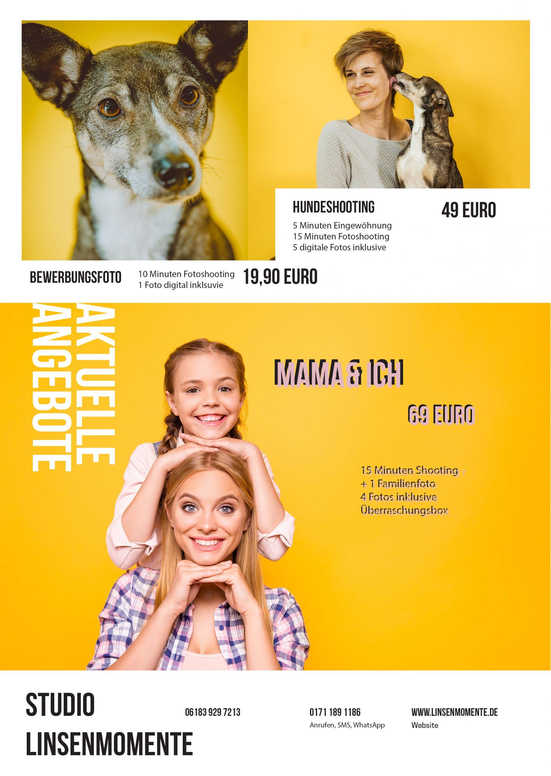 Fotoshooting Angebot Muttertag Hanau