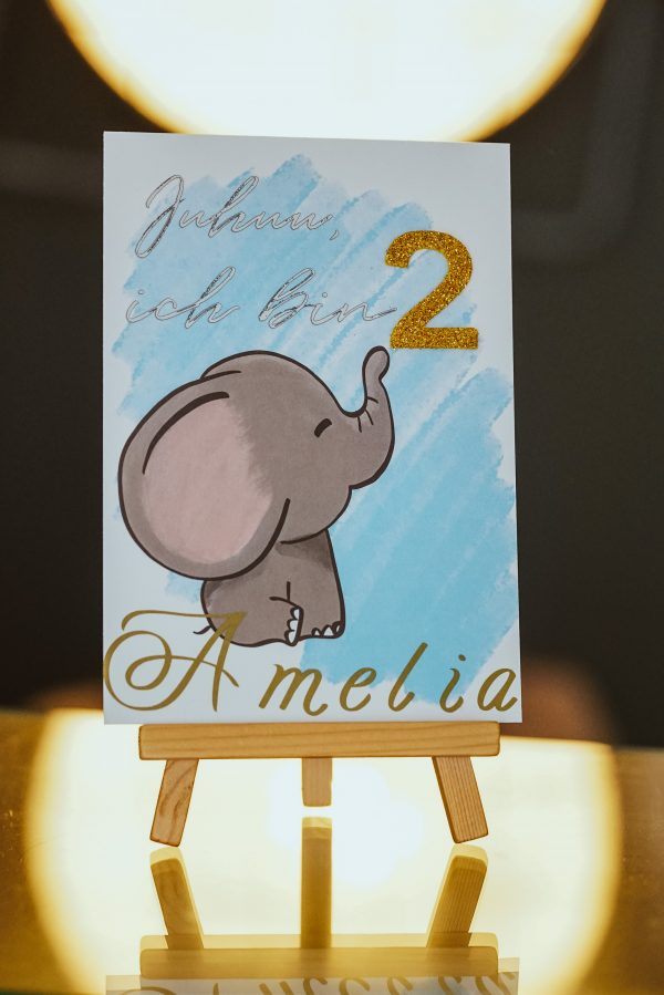 Geburtstagskarte personalisiert